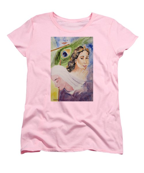 Love And Devotion Women's T-Shirt (Standard Cut) by Geeta Biswas