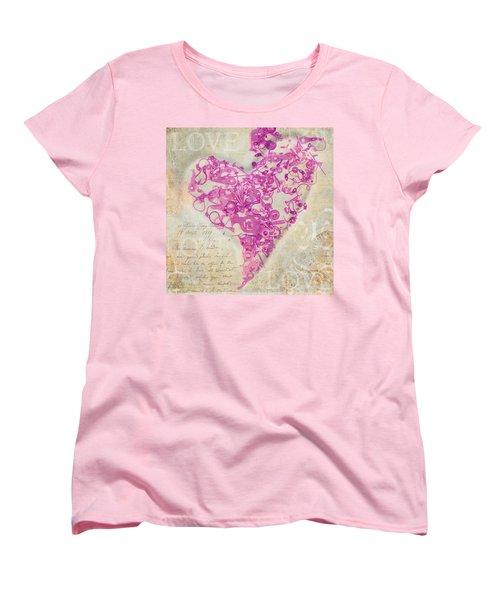 Love Is A Gift Women's T-Shirt (Standard Cut) by Fran Riley