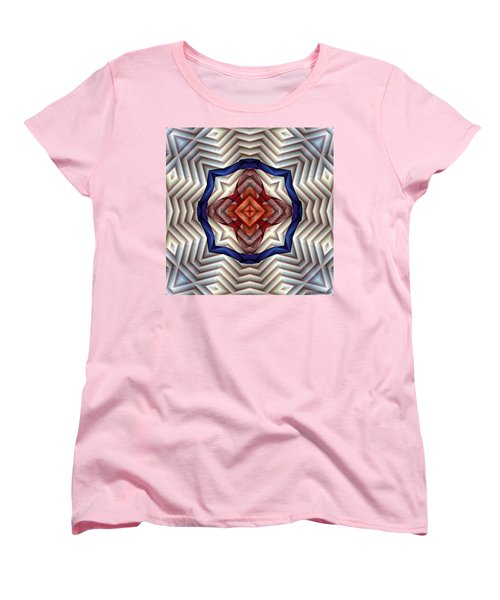 Mandala 11 Women's T-Shirt (Standard Cut) by Terry Reynoldson
