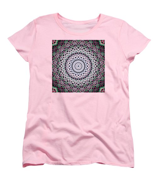 Mandala 38 Women's T-Shirt (Standard Cut) by Terry Reynoldson