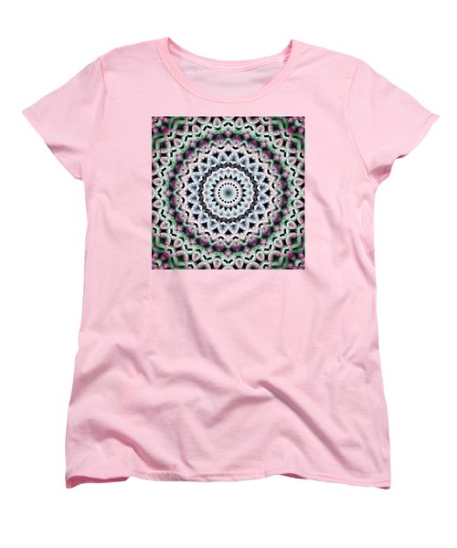 Mandala 40 Women's T-Shirt (Standard Cut) by Terry Reynoldson