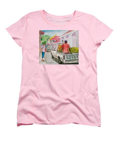 Marigot St. Martin Women's T-Shirt (Standard Cut) by Frank Hunter