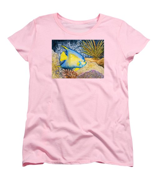 Martinique Angel Women's T-Shirt (Standard Cut) by Patricia Beebe