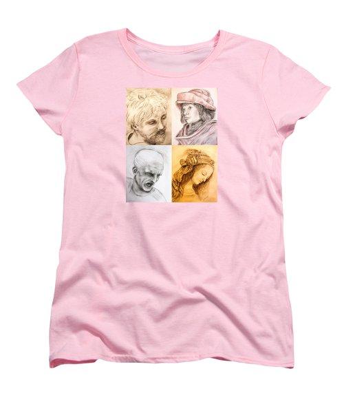 Master Studies Women's T-Shirt (Standard Cut) by Loretta Luglio