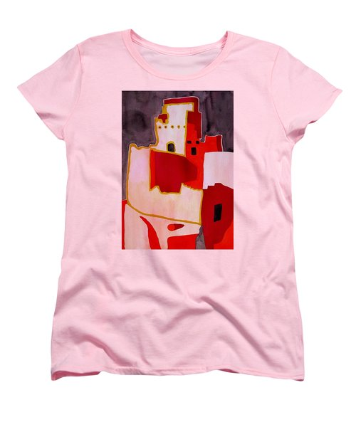 Mesa Verde Original Painting Sold Women's T-Shirt (Standard Cut) by Sol Luckman