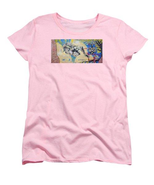 Minotaur Women's T-Shirt (Standard Cut) by Derrick Higgins
