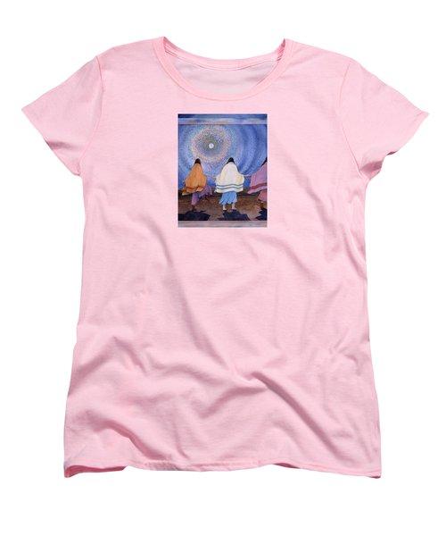 Moondance Women's T-Shirt (Standard Cut) by Lynda Hoffman-Snodgrass