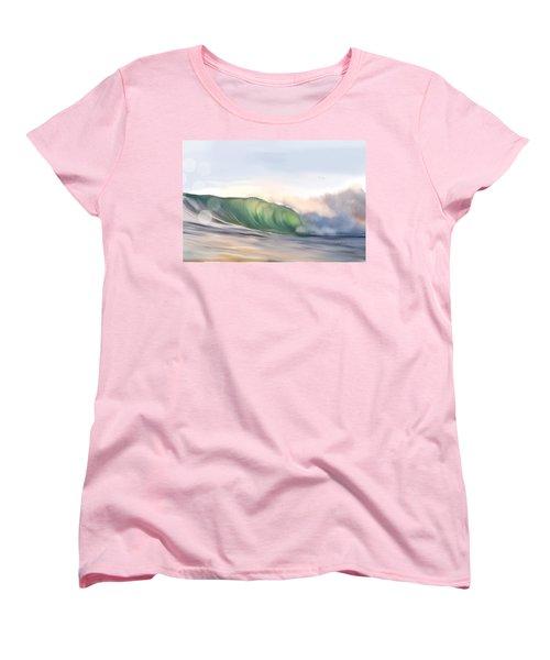 Morning Break Women's T-Shirt (Standard Cut) by Dawn Harrell