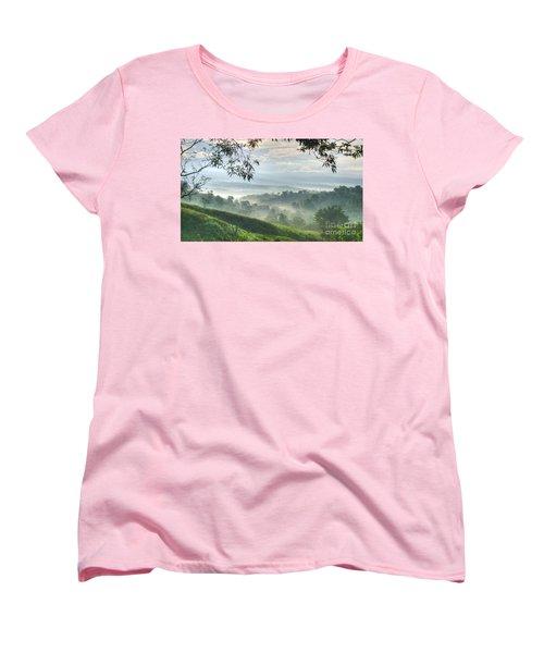 Morning Mist Women's T-Shirt (Standard Cut) by Heiko Koehrer-Wagner