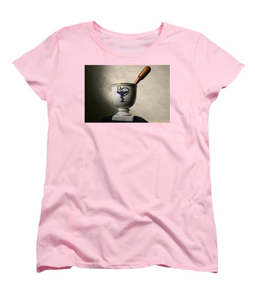 Mortar And Pestle Two Women's T-Shirt (Standard Cut) by Kristin Elmquist