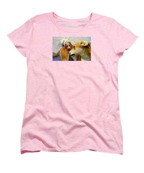 Mother's Affection Women's T-Shirt (Standard Cut) by Salman Ravish