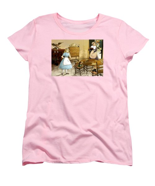 Mrs. Gage's Kitchen Women's T-Shirt (Standard Cut) by Reynold Jay