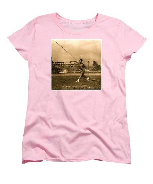 My #hero, George Porter, 1968 Women's T-Shirt (Standard Cut) by Anna Porter