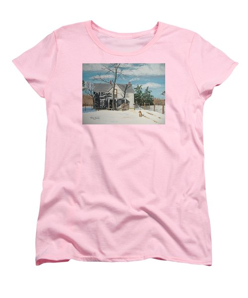My Master Will Soon Be Home Women's T-Shirt (Standard Cut) by Norm Starks