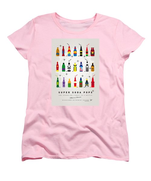 My Super Soda Pops No-00 Women's T-Shirt (Standard Cut) by Chungkong Art