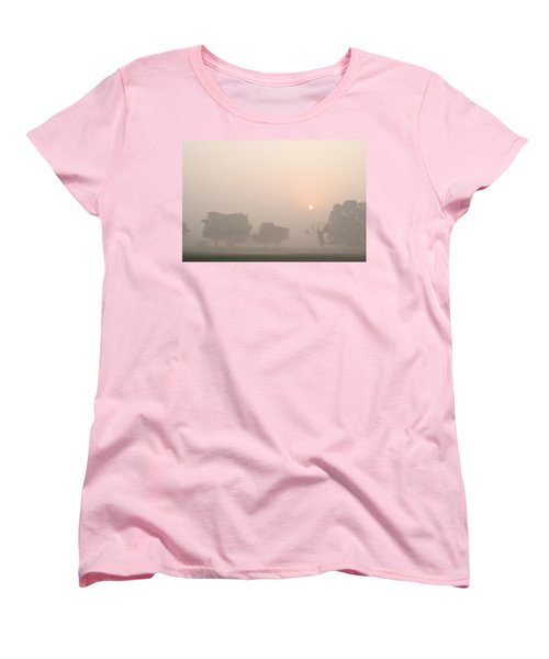 Women's T-Shirt (Standard Cut) featuring the photograph Mystic Landscape by Lana Enderle