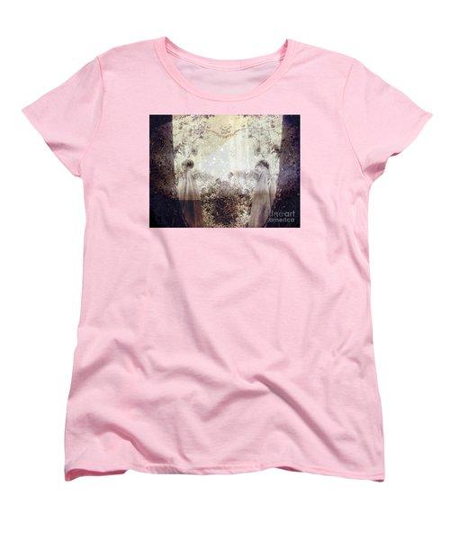 Never Grow Up Women's T-Shirt (Standard Cut) by Ellen Cotton