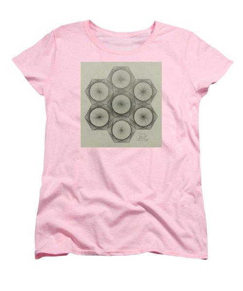 Nuclear Fusion Women's T-Shirt (Standard Cut) by Jason Padgett