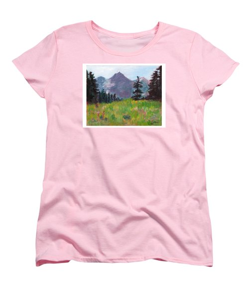 Off The Trail 2 Women's T-Shirt (Standard Cut) by C Sitton