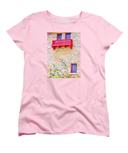 Women's T-Shirt (Standard Cut) featuring the photograph Oh Romeo by Marilyn Diaz