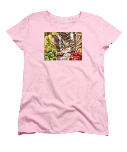 Ok Now What Women's T-Shirt (Standard Cut) by Hiroko Sakai