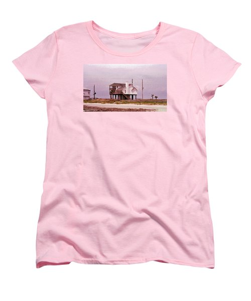 Old Galveston Women's T-Shirt (Standard Cut) by Tikvah's Hope