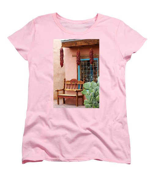 Old Town Albuquerque Shop Window Women's T-Shirt (Standard Cut)