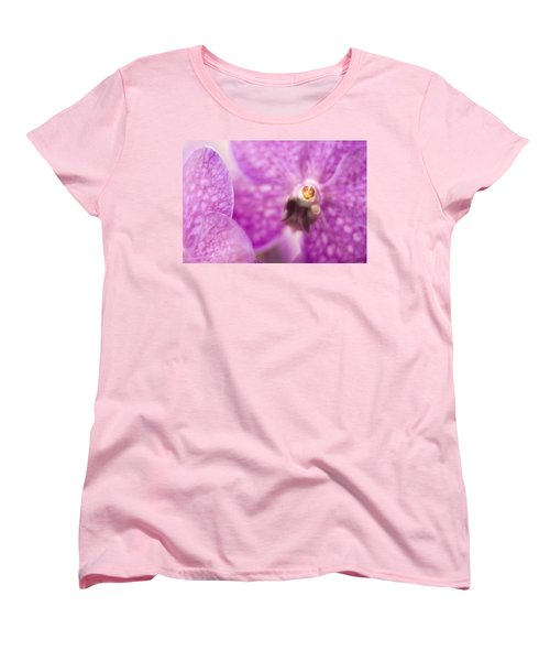 Women's T-Shirt (Standard Cut) featuring the photograph Orchid by Bradley R Youngberg