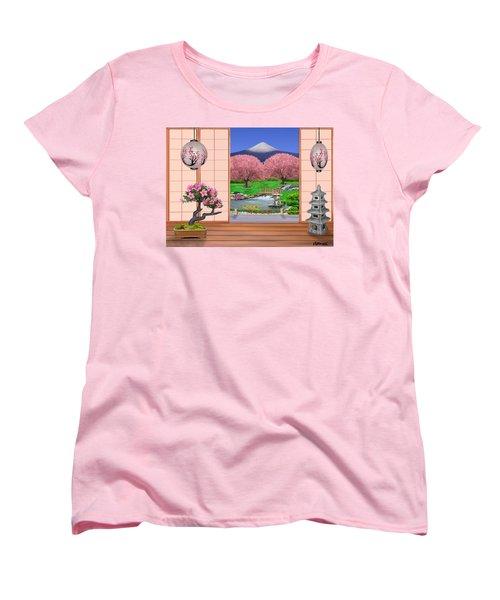 Oriental Splendor Women's T-Shirt (Standard Cut) by Glenn Holbrook