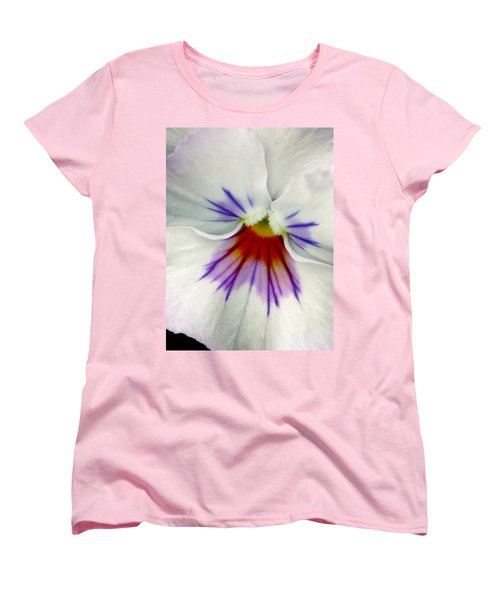 Pansy Flower 11 Women's T-Shirt (Standard Cut) by Pamela Critchlow