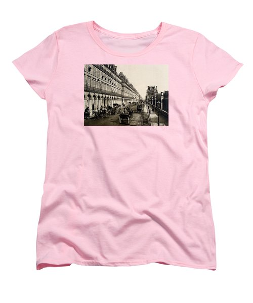 Paris 1900 Rue De Rivoli Women's T-Shirt (Standard Cut) by Ira Shander