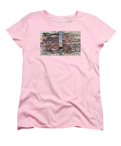 Pause Women's T-Shirt (Standard Cut) by Thomasina Durkay