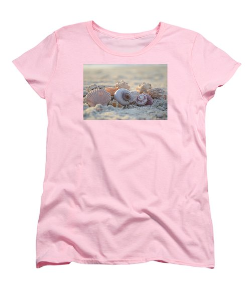 Women's T-Shirt (Standard Cut) featuring the photograph Peaceful Whispers by Melanie Moraga