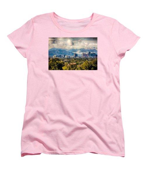 Phoenix Downtown Women's T-Shirt (Standard Cut) by Fred Larson