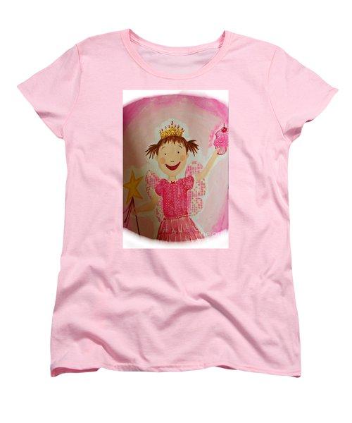 Pinkalicious Women's T-Shirt (Standard Cut) by Marisela Mungia