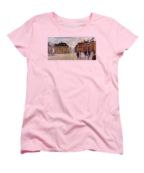 Pont Neuf Women's T-Shirt (Standard Cut) by Walter Casaravilla