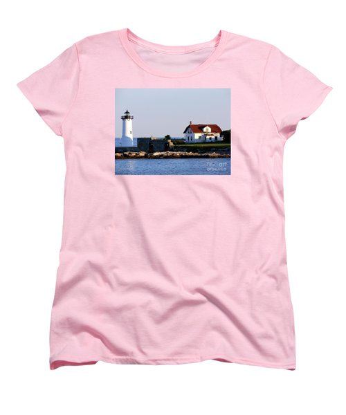 Portsmouth Harbor Light Women's T-Shirt (Standard Cut) by Kevin Fortier
