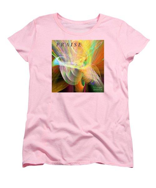 Women's T-Shirt (Standard Cut) featuring the digital art Praise by Margie Chapman