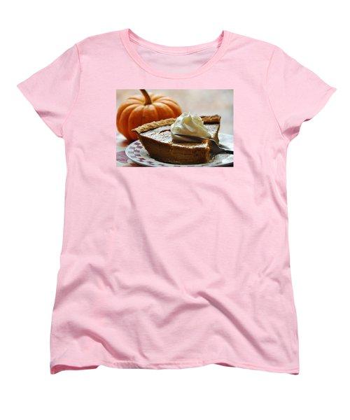 Pumpkin Delight Women's T-Shirt (Standard Cut) by Cheryl Baxter
