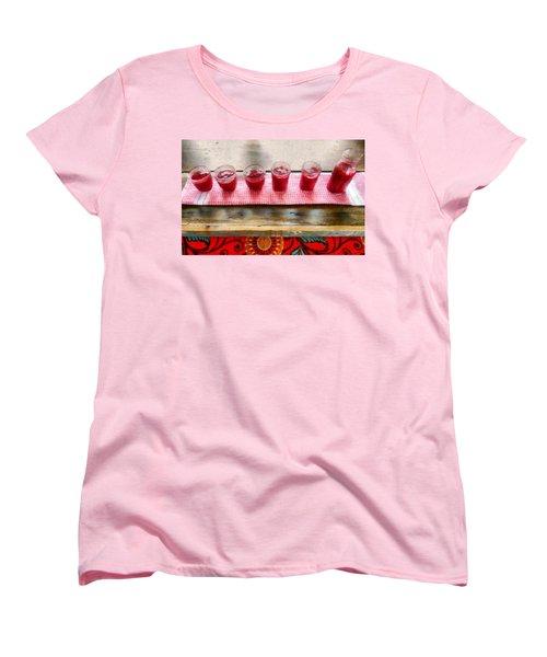 Putting Up Preserves Women's T-Shirt (Standard Cut) by Michelle Calkins