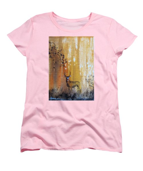 Quiet Time Women's T-Shirt (Standard Cut) by Laurianna Taylor