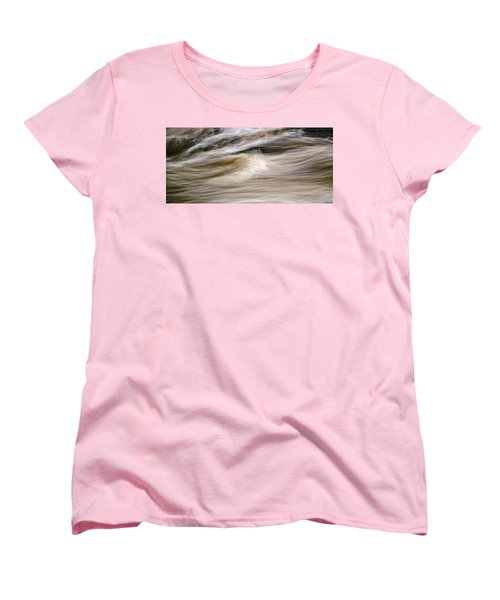 Women's T-Shirt (Standard Cut) featuring the photograph Rapids by Marty Saccone
