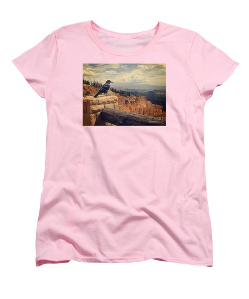 Raven's Eye View Women's T-Shirt (Standard Cut) by Meghan at FireBonnet Art