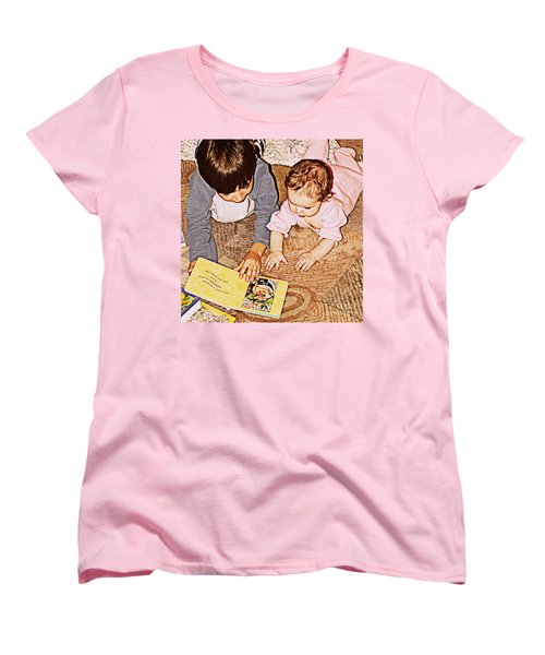 Story Time Women's T-Shirt (Standard Cut) by Valerie Reeves