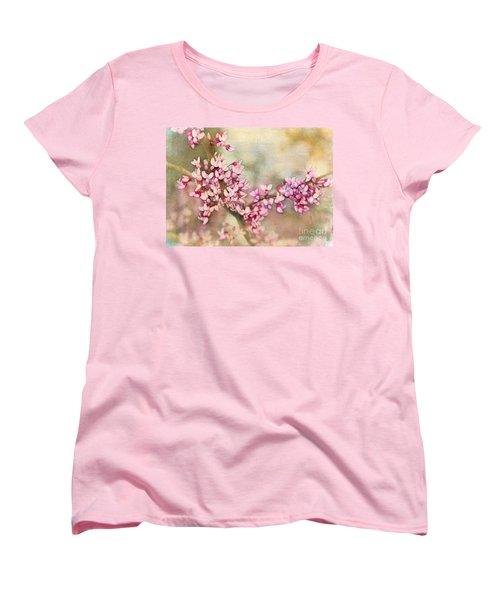 Welcome Spring Women's T-Shirt (Standard Cut) by Judi Bagwell