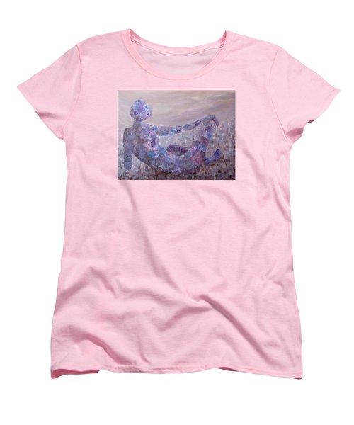 Reflecting Women's T-Shirt (Standard Cut) by Joanne Smoley