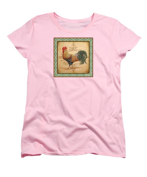 Renaissance Rooster-a-green Women's T-Shirt (Standard Cut)