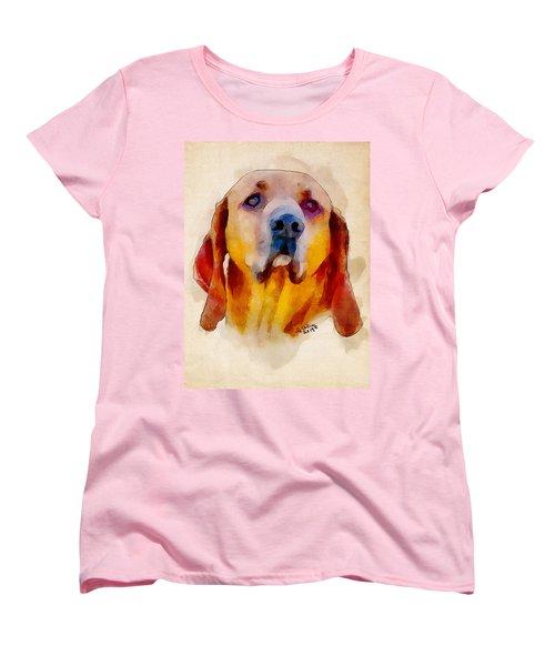Retriever Women's T-Shirt (Standard Cut) by Greg Collins