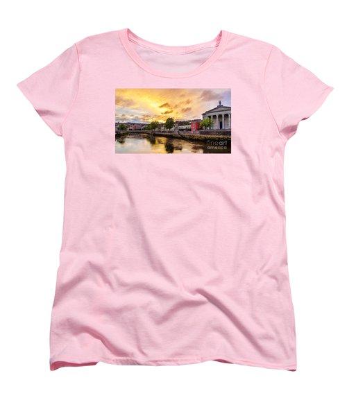 River Lee In Cork Women's T-Shirt (Standard Cut) by Daniel Heine