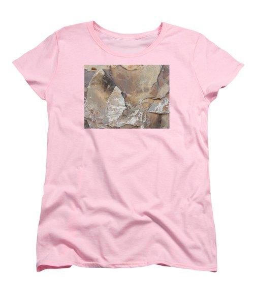 Women's T-Shirt (Standard Cut) featuring the photograph Rocky Edges by Jason Williamson
